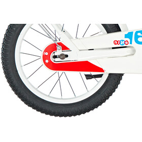 s'cool niXe 16 Steel Børn, white/blue/red